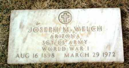 WELCH, JOSEPH MORRIS - Yavapai County, Arizona | JOSEPH MORRIS WELCH - Arizona Gravestone Photos