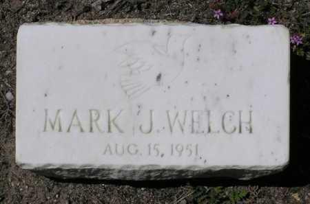 WELCH, MARK JENNINGS - Yavapai County, Arizona | MARK JENNINGS WELCH - Arizona Gravestone Photos