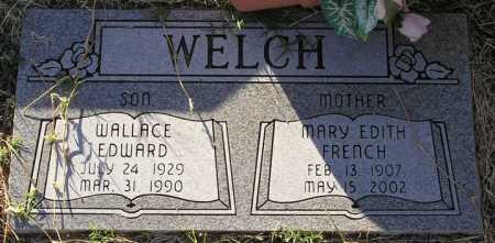 WELCH, MARY EDITH - Yavapai County, Arizona | MARY EDITH WELCH - Arizona Gravestone Photos