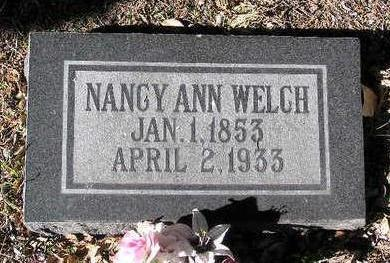 LITTLE WELCH, NANCY ANN M. - Yavapai County, Arizona | NANCY ANN M. LITTLE WELCH - Arizona Gravestone Photos