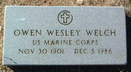 WELCH, OWEN WESLEY - Yavapai County, Arizona   OWEN WESLEY WELCH - Arizona Gravestone Photos