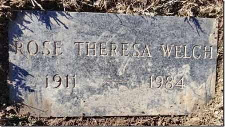 WELCH, ROSE THERESA - Yavapai County, Arizona | ROSE THERESA WELCH - Arizona Gravestone Photos