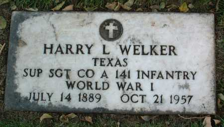 WELKER, HARRY LEE - Yavapai County, Arizona | HARRY LEE WELKER - Arizona Gravestone Photos