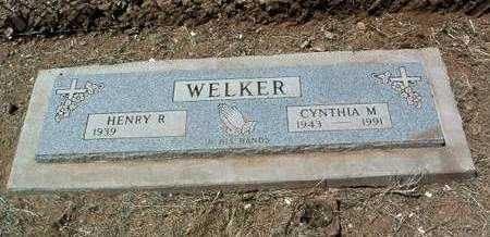 PARKS WELKER, CYNTHIA M. - Yavapai County, Arizona   CYNTHIA M. PARKS WELKER - Arizona Gravestone Photos