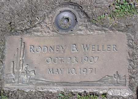 WELLER, RODNEY B. - Yavapai County, Arizona   RODNEY B. WELLER - Arizona Gravestone Photos