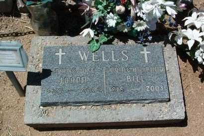 WELLS, WILLIAM H.  (BILL), JR. - Yavapai County, Arizona | WILLIAM H.  (BILL), JR. WELLS - Arizona Gravestone Photos
