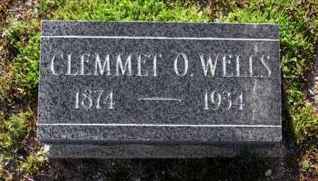 WELLS, CLEMMET ORLANDO - Yavapai County, Arizona   CLEMMET ORLANDO WELLS - Arizona Gravestone Photos