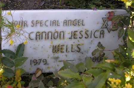 WELLS, CANON JESSICA - Yavapai County, Arizona | CANON JESSICA WELLS - Arizona Gravestone Photos