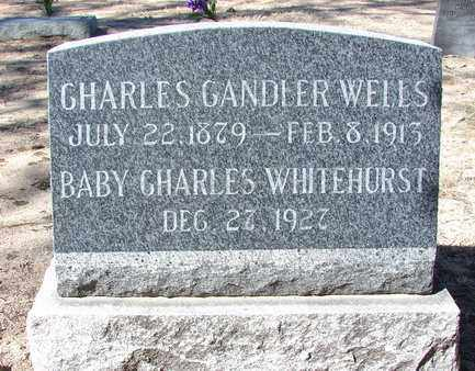 WELLS, CHARLES CANDLER - Yavapai County, Arizona | CHARLES CANDLER WELLS - Arizona Gravestone Photos