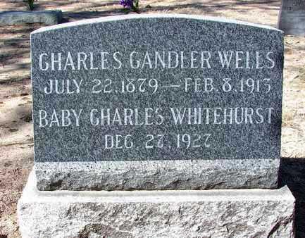 WELLS, CHARLES CANDLER - Yavapai County, Arizona | CHARLES CANDLER WELLS - Arizona Gravestone Photos