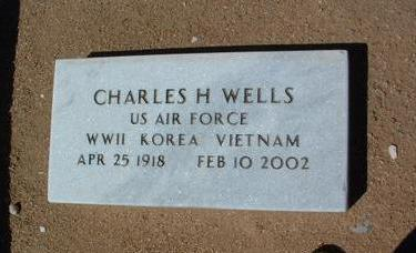 WELLS, CHARLES H. - Yavapai County, Arizona | CHARLES H. WELLS - Arizona Gravestone Photos
