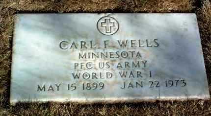 WELLS, CARL FREDERICK - Yavapai County, Arizona | CARL FREDERICK WELLS - Arizona Gravestone Photos