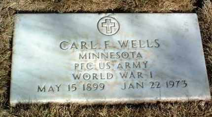 WELLS, CARL FREDERICK - Yavapai County, Arizona | CARL FREDERICK WELLS - Arizona Gravestone Photos