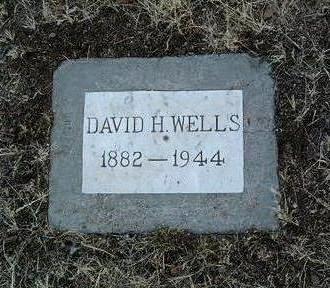 WELLS, DAVID HENRY - Yavapai County, Arizona | DAVID HENRY WELLS - Arizona Gravestone Photos
