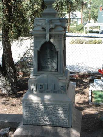 WELLS, EDMUND WILLIAM - Yavapai County, Arizona | EDMUND WILLIAM WELLS - Arizona Gravestone Photos