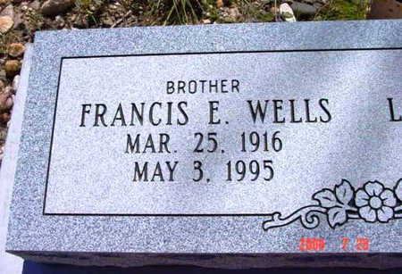 WELLS, FRANCIS E. - Yavapai County, Arizona | FRANCIS E. WELLS - Arizona Gravestone Photos