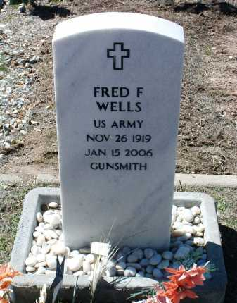 WELLS, FRED FRANCIS - Yavapai County, Arizona | FRED FRANCIS WELLS - Arizona Gravestone Photos