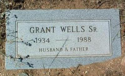 WELLS, ULYSSES GRANT   SR. - Yavapai County, Arizona | ULYSSES GRANT   SR. WELLS - Arizona Gravestone Photos