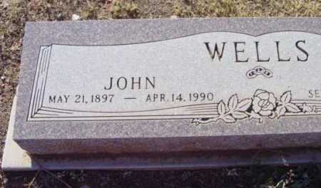 WELLS, JOHN - Yavapai County, Arizona   JOHN WELLS - Arizona Gravestone Photos