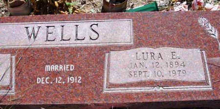 WELLS, LURA E. - Yavapai County, Arizona | LURA E. WELLS - Arizona Gravestone Photos