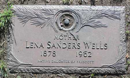 WELLS, LENA LEETA - Yavapai County, Arizona | LENA LEETA WELLS - Arizona Gravestone Photos