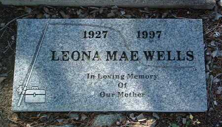 WELLS, LEONA MAE - Yavapai County, Arizona   LEONA MAE WELLS - Arizona Gravestone Photos