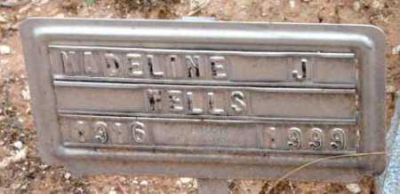WELLS, MADELINE J. - Yavapai County, Arizona   MADELINE J. WELLS - Arizona Gravestone Photos