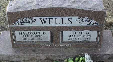 WELLS, EDITH GERTRUDE - Yavapai County, Arizona | EDITH GERTRUDE WELLS - Arizona Gravestone Photos