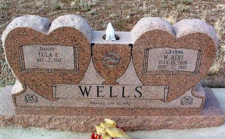 WELLS, W. BERT - Yavapai County, Arizona   W. BERT WELLS - Arizona Gravestone Photos