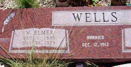 WELLS, W. ELMER - Yavapai County, Arizona | W. ELMER WELLS - Arizona Gravestone Photos
