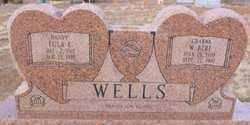 WELLS, WILLIE BERT - Yavapai County, Arizona | WILLIE BERT WELLS - Arizona Gravestone Photos