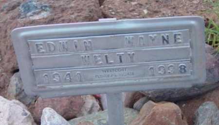 WELTY, EDWIN WAYNE - Yavapai County, Arizona | EDWIN WAYNE WELTY - Arizona Gravestone Photos