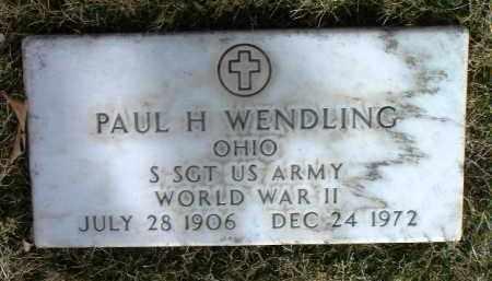 WENDLING, PAUL H. - Yavapai County, Arizona | PAUL H. WENDLING - Arizona Gravestone Photos