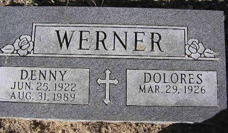 WERNER, DELORES - Yavapai County, Arizona | DELORES WERNER - Arizona Gravestone Photos