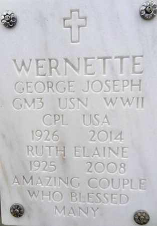 KELLY WERNETTE, RUTH E. - Yavapai County, Arizona | RUTH E. KELLY WERNETTE - Arizona Gravestone Photos