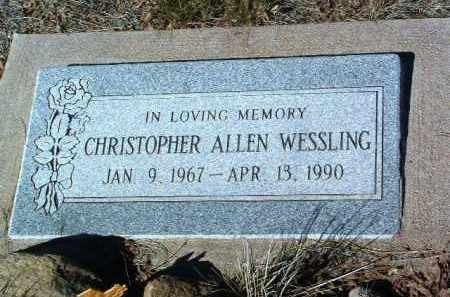 WESSLING, CHRISTOPHER ALLEN - Yavapai County, Arizona | CHRISTOPHER ALLEN WESSLING - Arizona Gravestone Photos