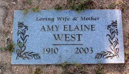 WEST, AMY ELAINE - Yavapai County, Arizona   AMY ELAINE WEST - Arizona Gravestone Photos