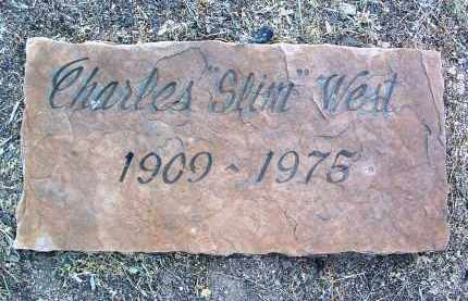 WEST, CHARLES R.  (SLIM) - Yavapai County, Arizona | CHARLES R.  (SLIM) WEST - Arizona Gravestone Photos