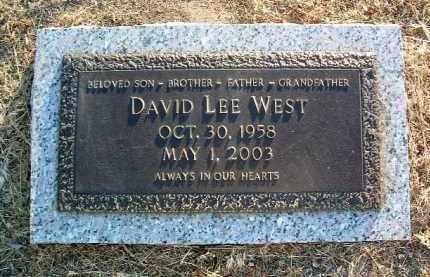 WEST, DAVID LEE - Yavapai County, Arizona | DAVID LEE WEST - Arizona Gravestone Photos
