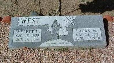 WEST, EVERETT C. - Yavapai County, Arizona | EVERETT C. WEST - Arizona Gravestone Photos