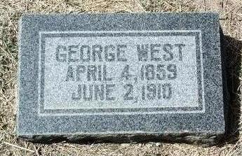 WEST, GEORGE C. - Yavapai County, Arizona | GEORGE C. WEST - Arizona Gravestone Photos