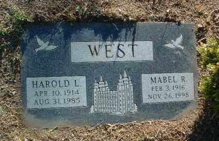 WEST, HAROLD LANGWORTHY - Yavapai County, Arizona | HAROLD LANGWORTHY WEST - Arizona Gravestone Photos