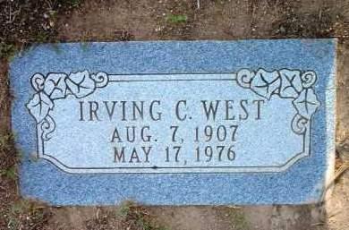WEST, IRVING COLEMAN - Yavapai County, Arizona | IRVING COLEMAN WEST - Arizona Gravestone Photos