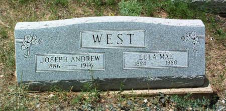 WEST, JOSEPH ANDREW - Yavapai County, Arizona | JOSEPH ANDREW WEST - Arizona Gravestone Photos