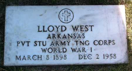 WEST, LLOYD - Yavapai County, Arizona | LLOYD WEST - Arizona Gravestone Photos