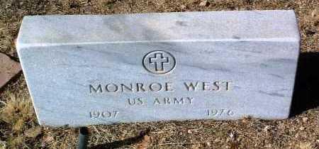 WEST, MONROE NEWTON - Yavapai County, Arizona   MONROE NEWTON WEST - Arizona Gravestone Photos