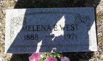 WEST, MELENA E.  (LENA) - Yavapai County, Arizona   MELENA E.  (LENA) WEST - Arizona Gravestone Photos