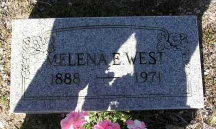 WEST, MELENA E.  (LENA) - Yavapai County, Arizona | MELENA E.  (LENA) WEST - Arizona Gravestone Photos