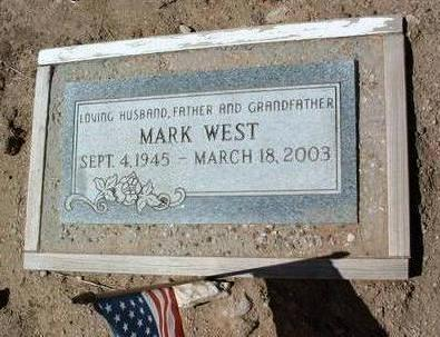 WEST, MARK - Yavapai County, Arizona | MARK WEST - Arizona Gravestone Photos