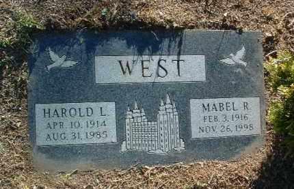 WEST, MABEL RUTH - Yavapai County, Arizona   MABEL RUTH WEST - Arizona Gravestone Photos